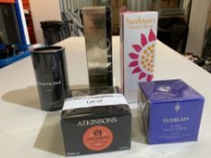 Guerlain super aqua-crème day gel 50ml, Kenneth cole for him EDT 50ml, Atkinsons deluxe shaving