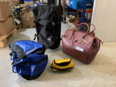Luggage to include; Eastpack, The North Face and KC Jagger four units.