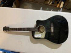 Fender electric acoustic guitar. Model CD60CE BLK-DS-V2. SN~: ISP160901763