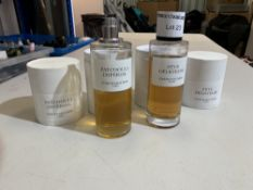 Christian Dior part used Patchovli Imperial 250ml and Feve Delicieuse 250ml.