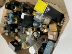 Box part used perfumes approx. 50 units