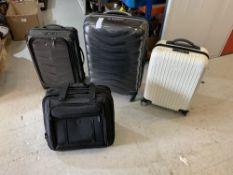 Samsonite luggage four units.