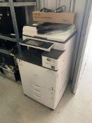 Ricoh MPC2011SP Serial: G478M130299 multi function laser printer scanner.