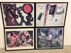 Wassily Kandinsky 1866-1944 small reproduction exhibition posters, New York Moscow Zurich and