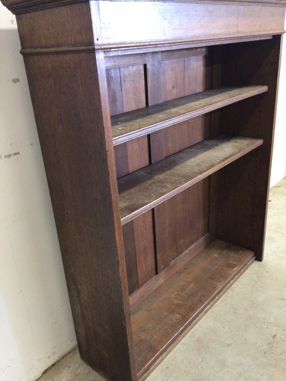 A set of early 20th century bookshelves. - Image 3 of 5