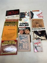 A collection of fiction and non-fictions titles to include Tantrum by Jules Feiffer, Spike