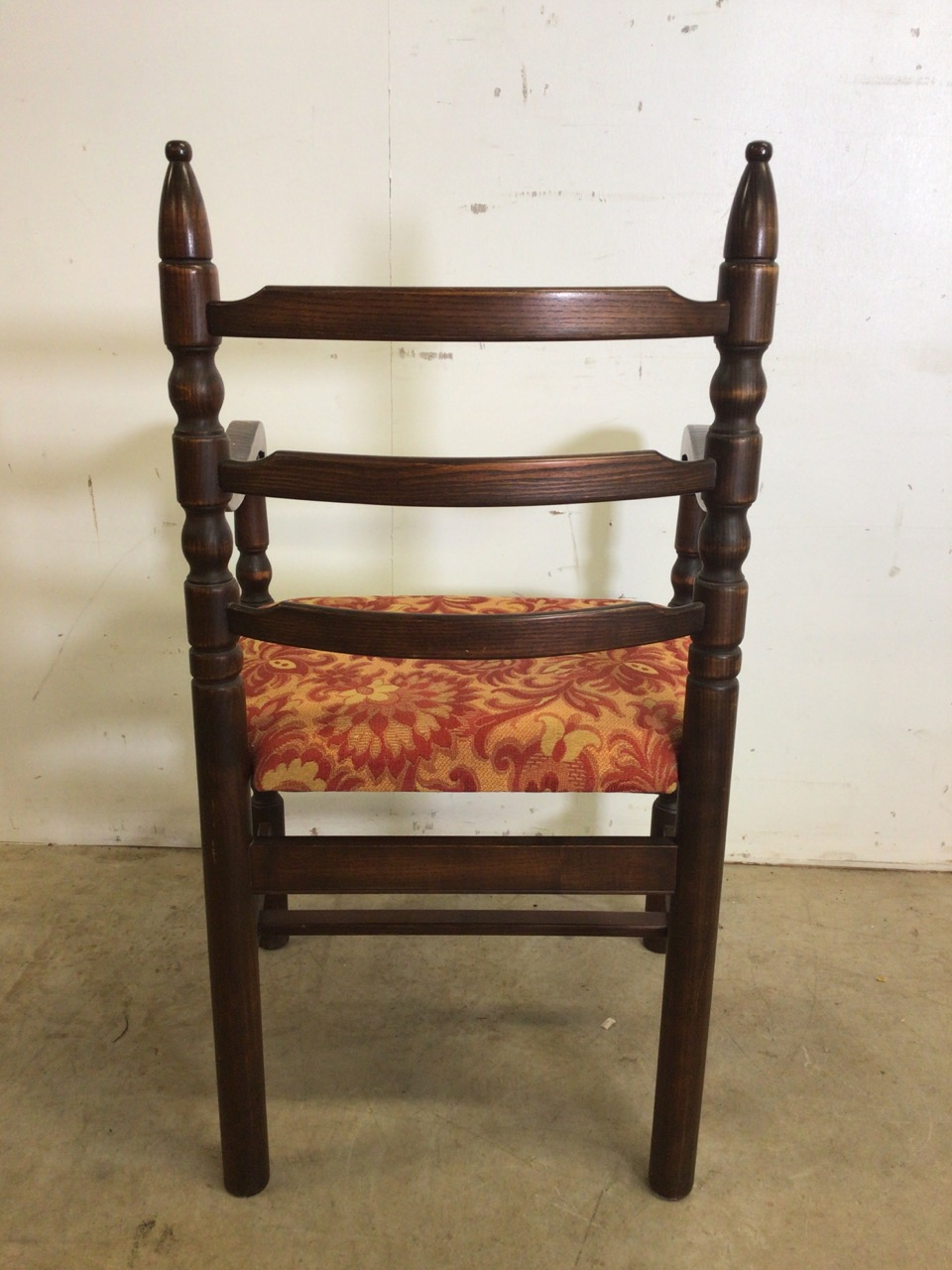 A set of eight mid century dining chairs by Younger. Seat height H:48cm - Image 5 of 6