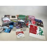 A collection of sporting programmes including Wimbledon, women's hockey, Glasgow Commonwealth