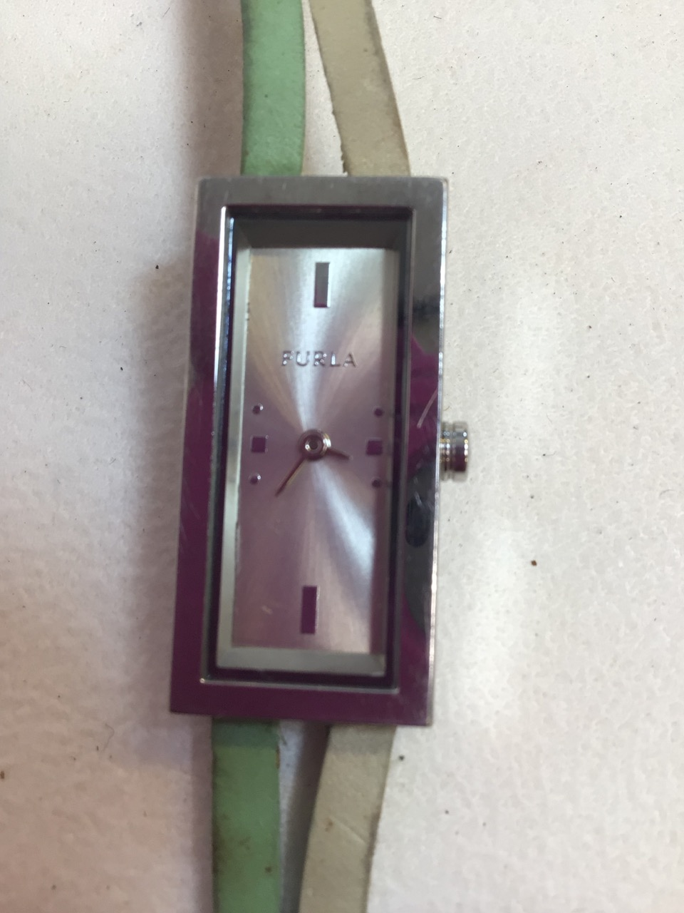Two ladies watches, Opex and Furla with leather strap. - Image 2 of 4