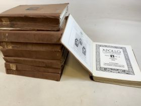 Apollo. A journal of the arts. Eight vols.