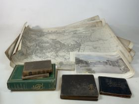 12 Vintage Ordnance survey mainly of Somerset including Taunton Priory Ward 1930, Her Majesty's