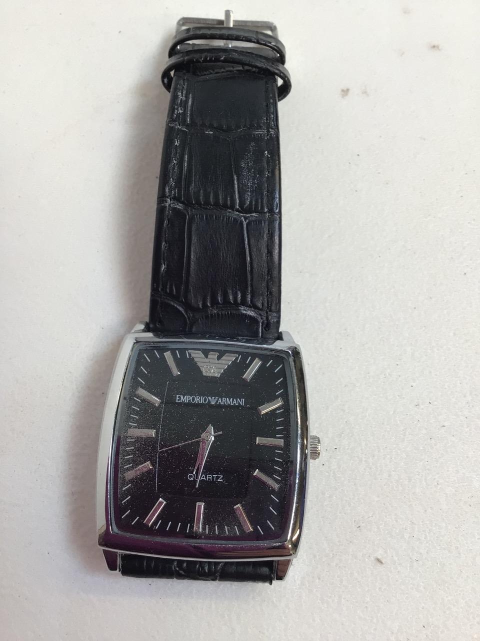 A Emporio Armani Quartz watch. - Image 2 of 3