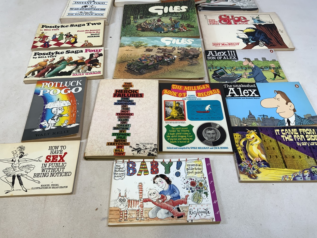 A collection of comic strip and illustrated book titles to include Walk Kellys Pogo Revisited, We - Image 3 of 3