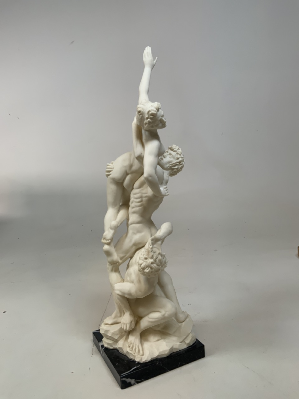 A classical style figurine by Sculptura A Santini W:14cm x H:49cm - Image 3 of 5