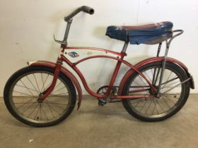 An early Raleigh bicycle. Saddle height H:72cm