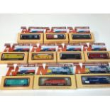 Life like N gauge two locomotives 7846 and 7755 and eight freight cars in original boxes.