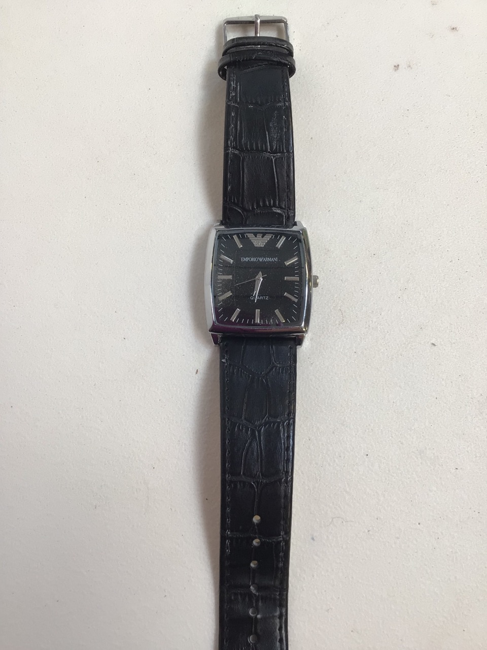 A Emporio Armani Quartz watch. - Image 3 of 3