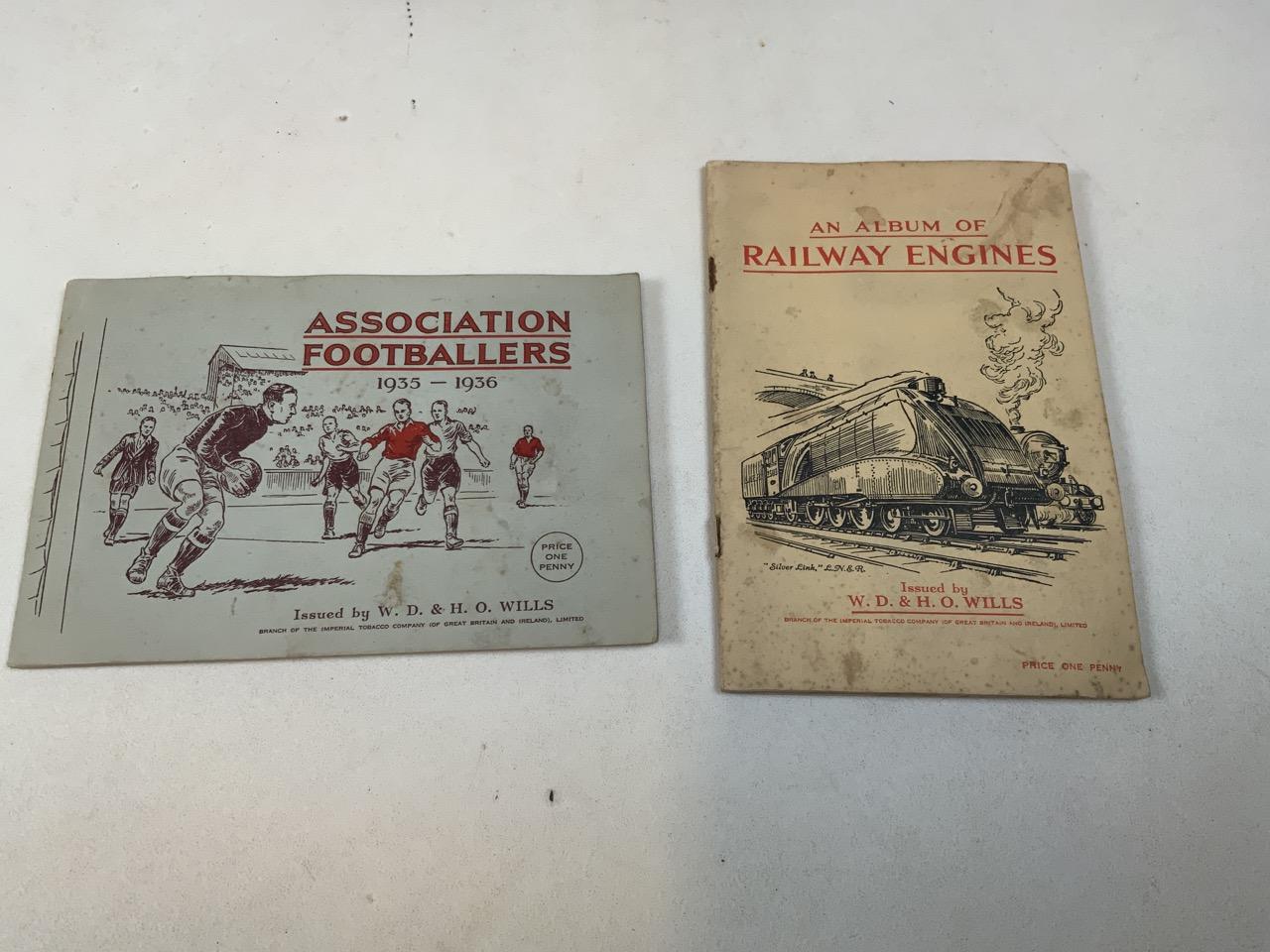 Nine cigarette card albums including Association footballers 1935-1936, Radio celebrities, An - Image 2 of 5