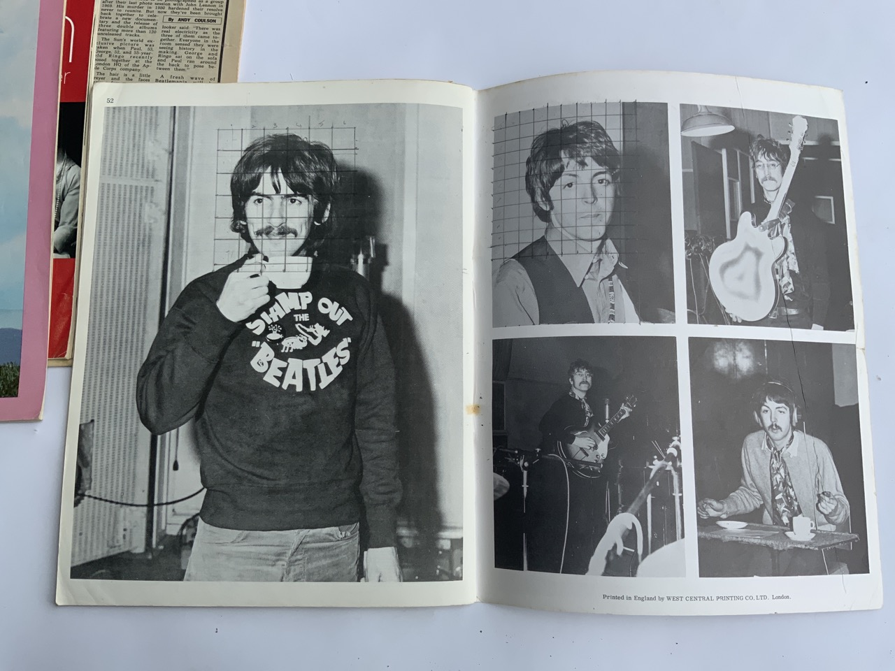 The Beatles 1967 song book contains all songs from SGT. Pepper Lonely Heart Club Band plus - Image 6 of 8