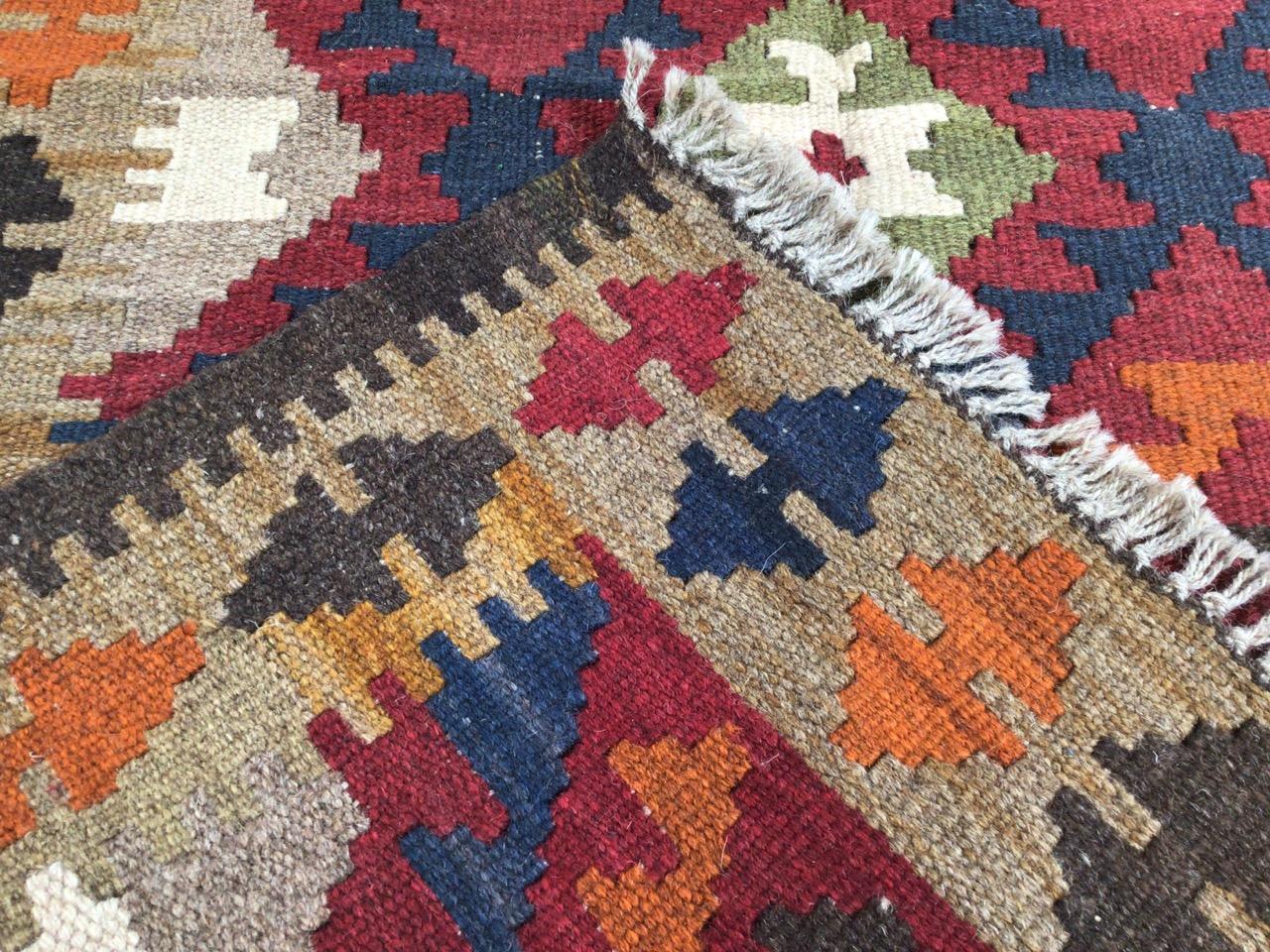 A Maimana Kilim rug. W:78cm x H:132cm - Image 2 of 4