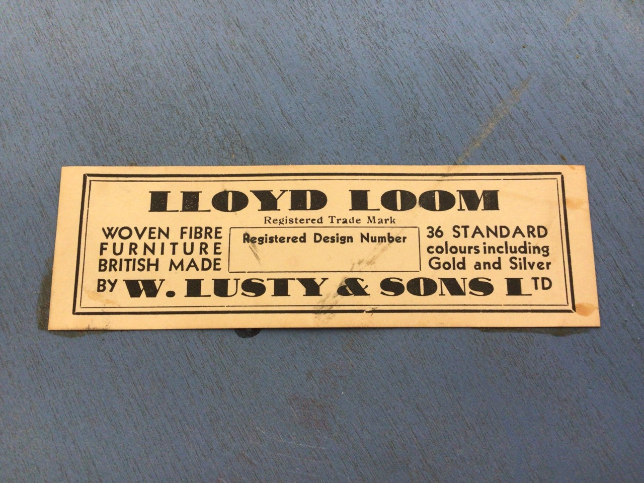 Lloyd loom lusty laundry basket also with two mid century tea trolleys one with folding drop flap - Image 3 of 6