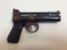 A Webley Junior 177 Air pistol by Webley and Scott ltd Birmingham.
