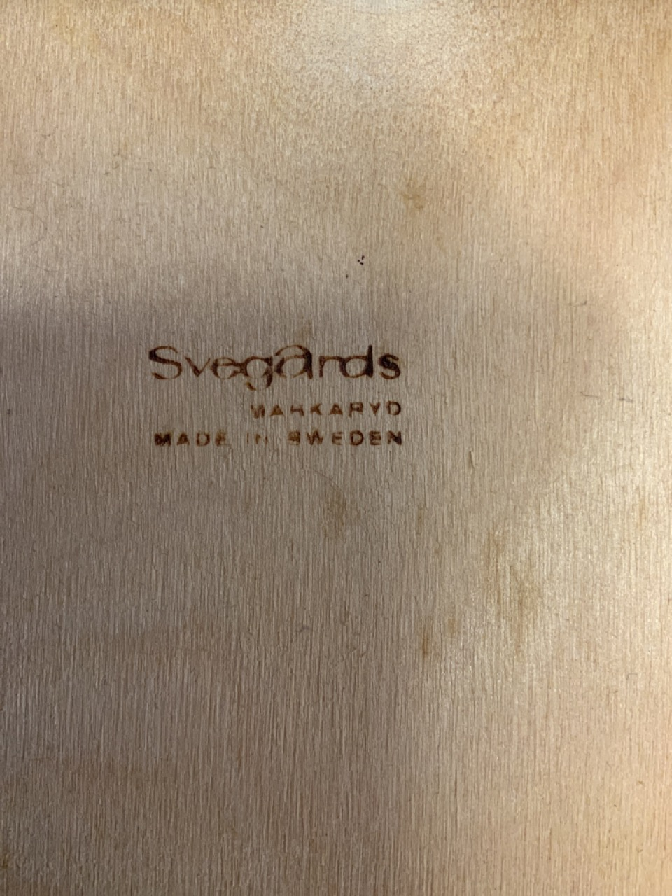 A set of six mid century rosewood Scandinavian dining chairs by Svegards Markaryd. To include two - Image 2 of 6