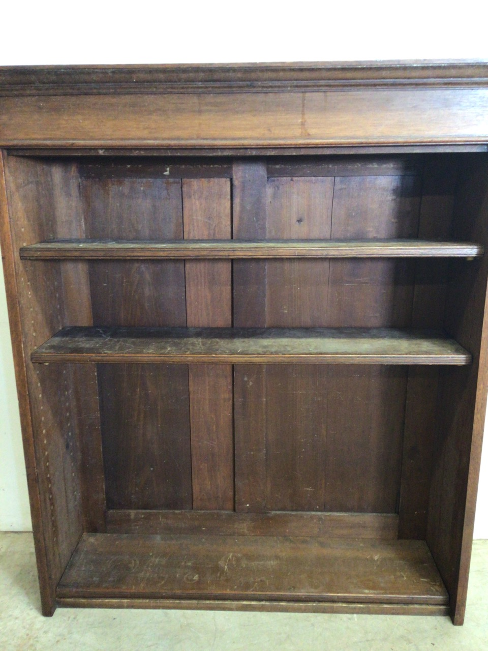 A set of early 20th century bookshelves. - Image 4 of 5