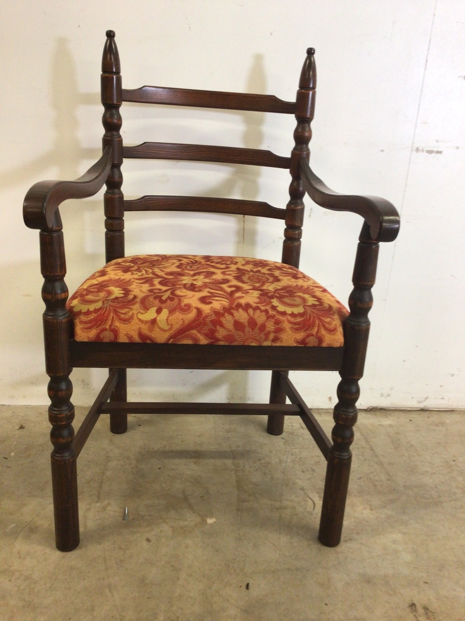 A set of eight mid century dining chairs by Younger. Seat height H:48cm - Image 2 of 6