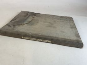 A bound collection of Paignton Western Guardian newspapers dated 1929
