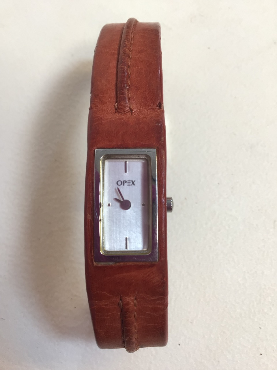 Two ladies watches, Opex and Furla with leather strap. - Image 3 of 4