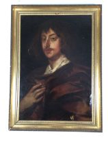 George Digby 2nd Earl of Bristol C.1690. Portrait oil on canvas. after Sir Anthony van Dyck. W: