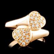 14K Gold 0.18ctw Diamond Ring