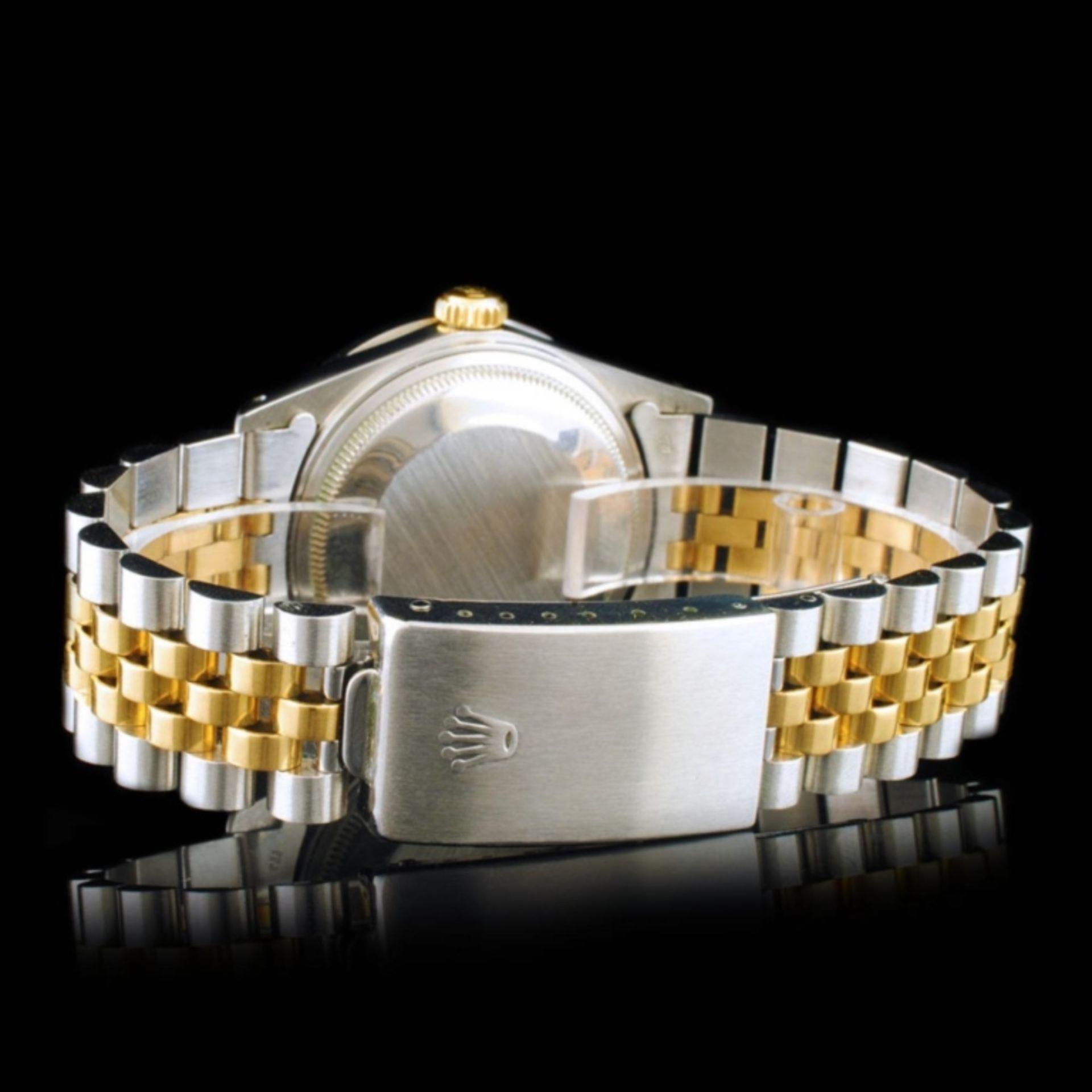 Rolex DateJust YG/SS Diamond 36mm Wristwatch - Image 5 of 6