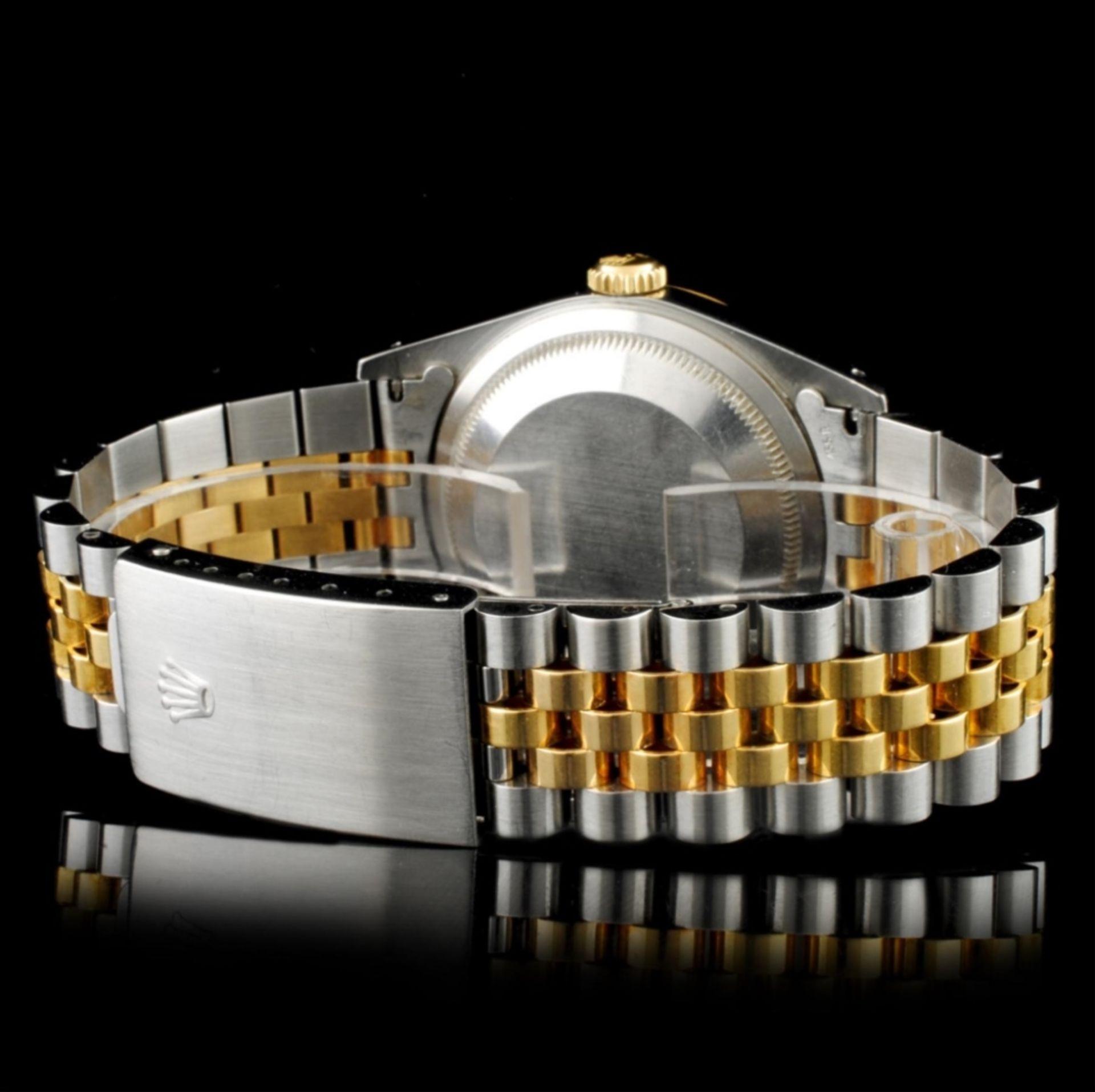 Rolex DateJust YG/SS Diamond 36MM Wristwatch - Image 4 of 5