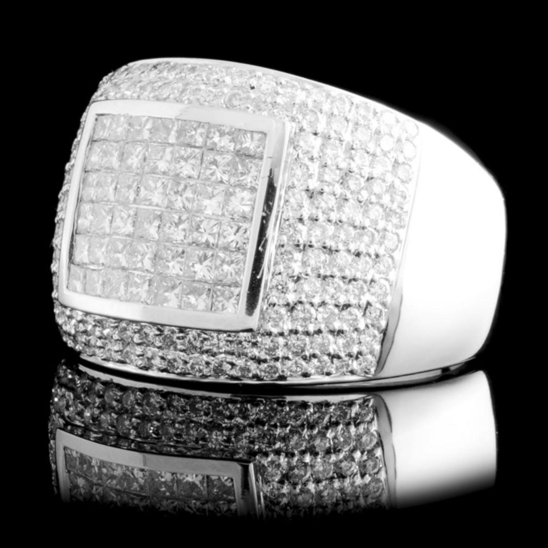 18K Gold 1.55ctw Diamond Ring - Image 2 of 4