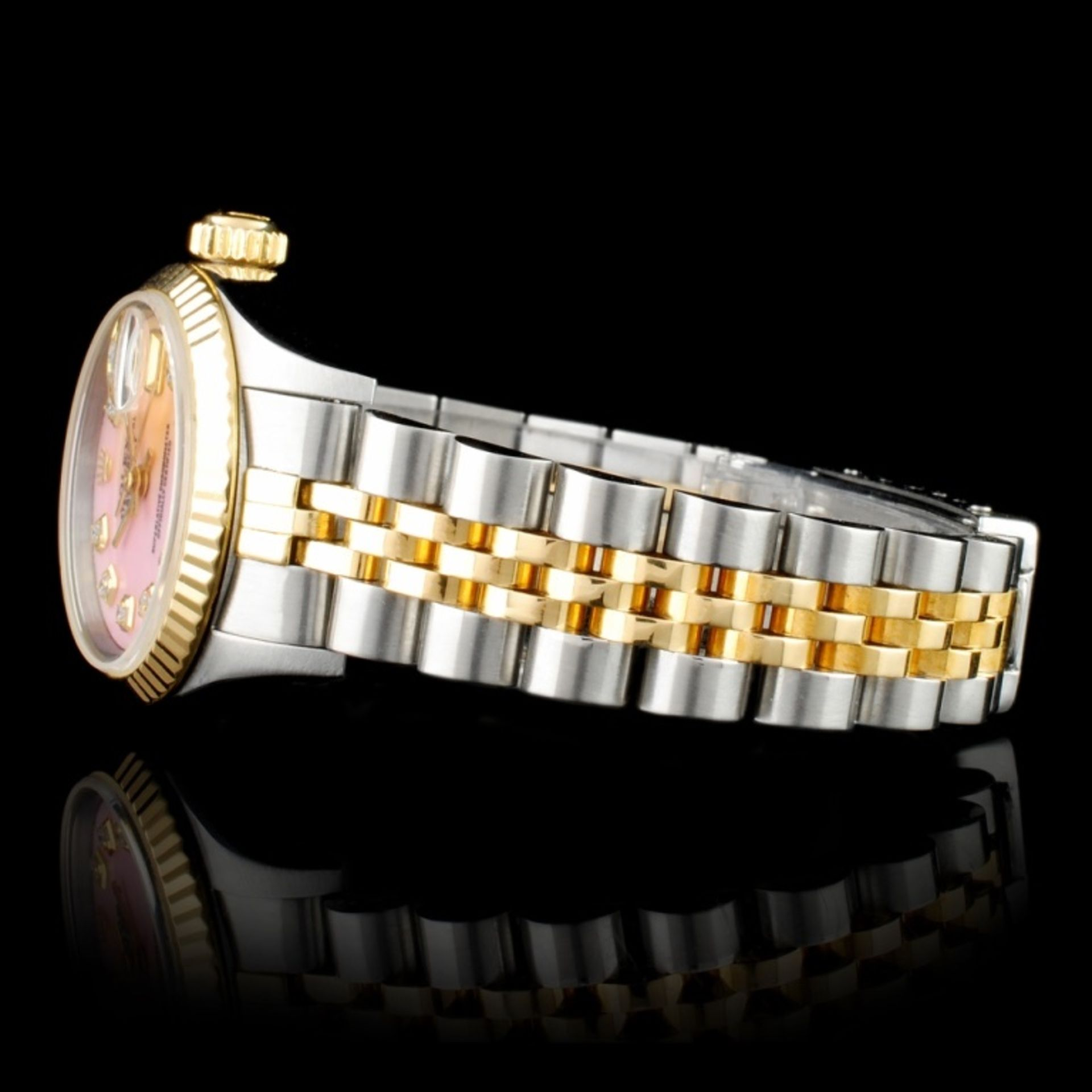 Rolex DateJust Diamond Ladies Wristwatch - Image 3 of 6