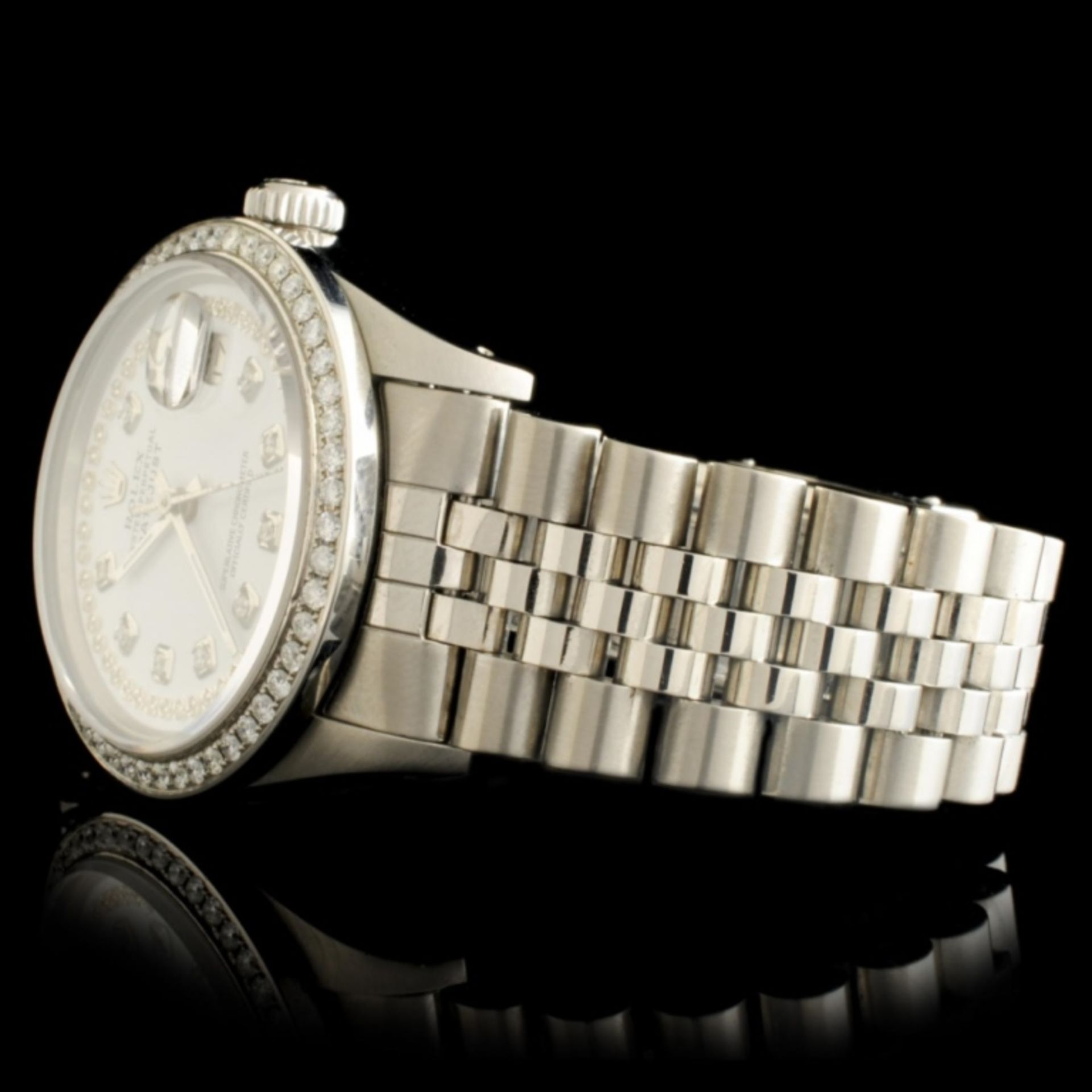 Rolex DateJust Diamond 36MM Wristwatch - Image 4 of 7