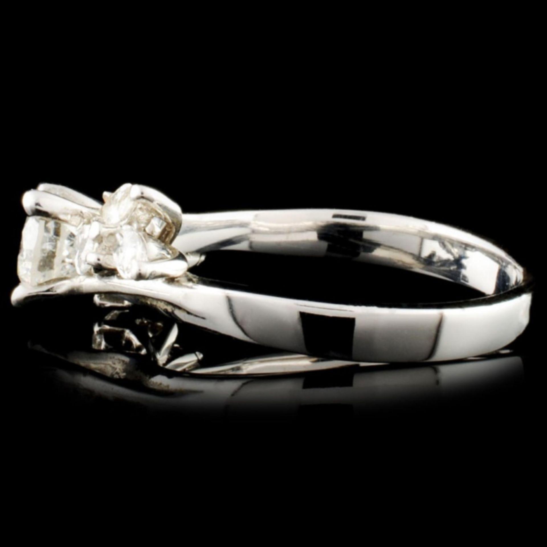 18K Gold 0.77ctw Diamond Ring - Image 3 of 3