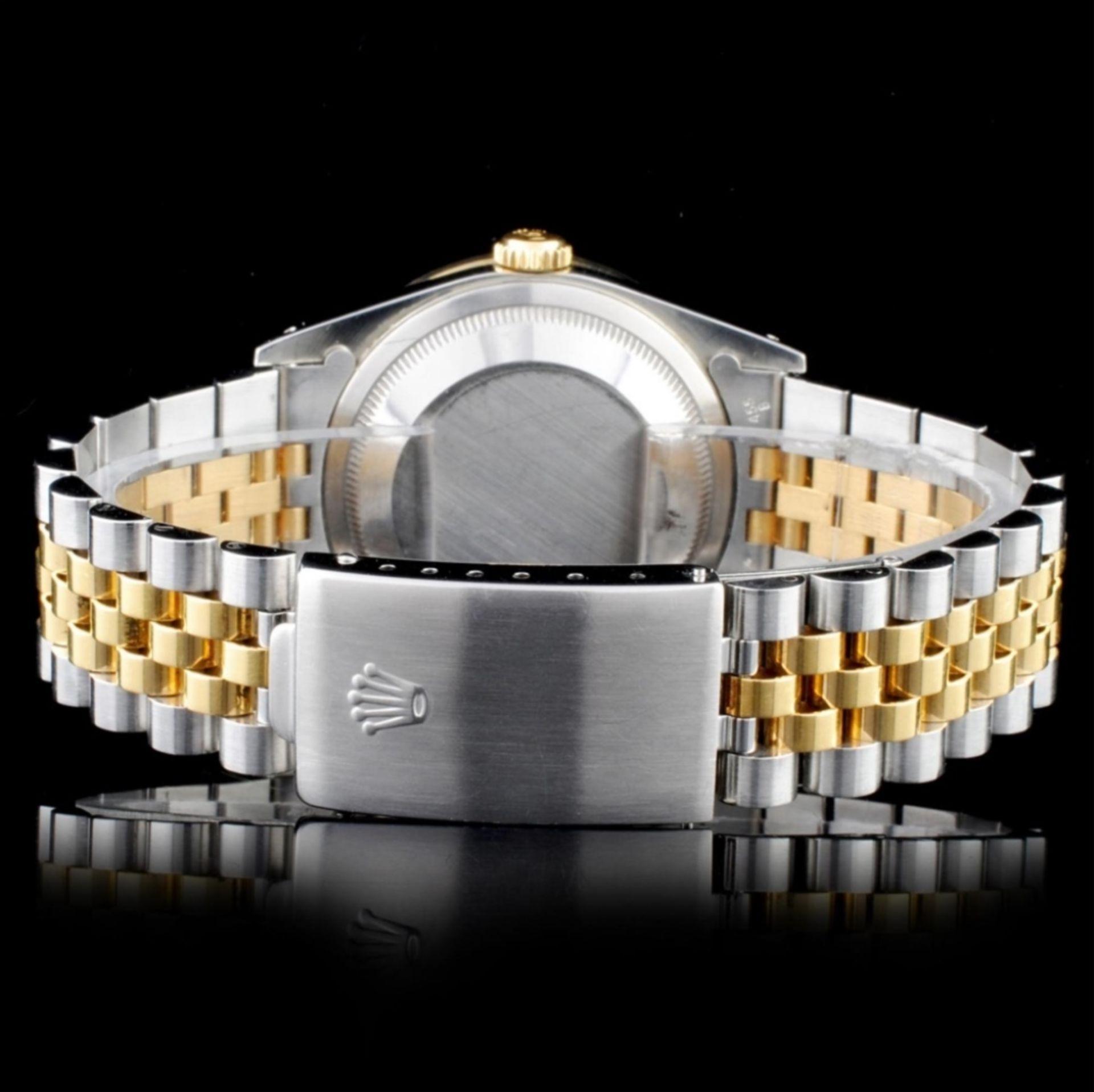 Rolex YG/SS DateJust 1.50ct Diamond 36MM Watch - Image 3 of 4