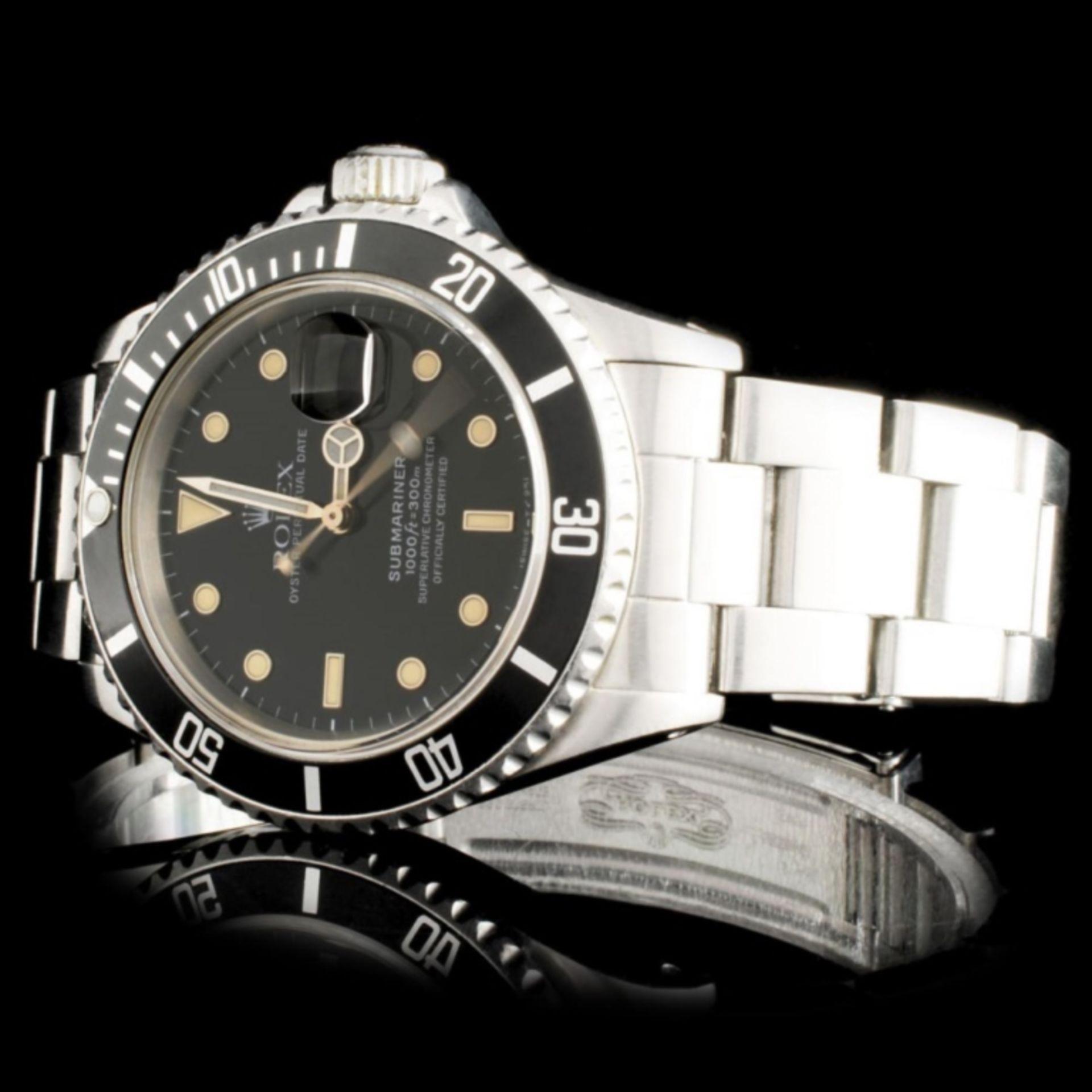 Rolex SS Submariner 40MM Wristwatch - Image 2 of 5