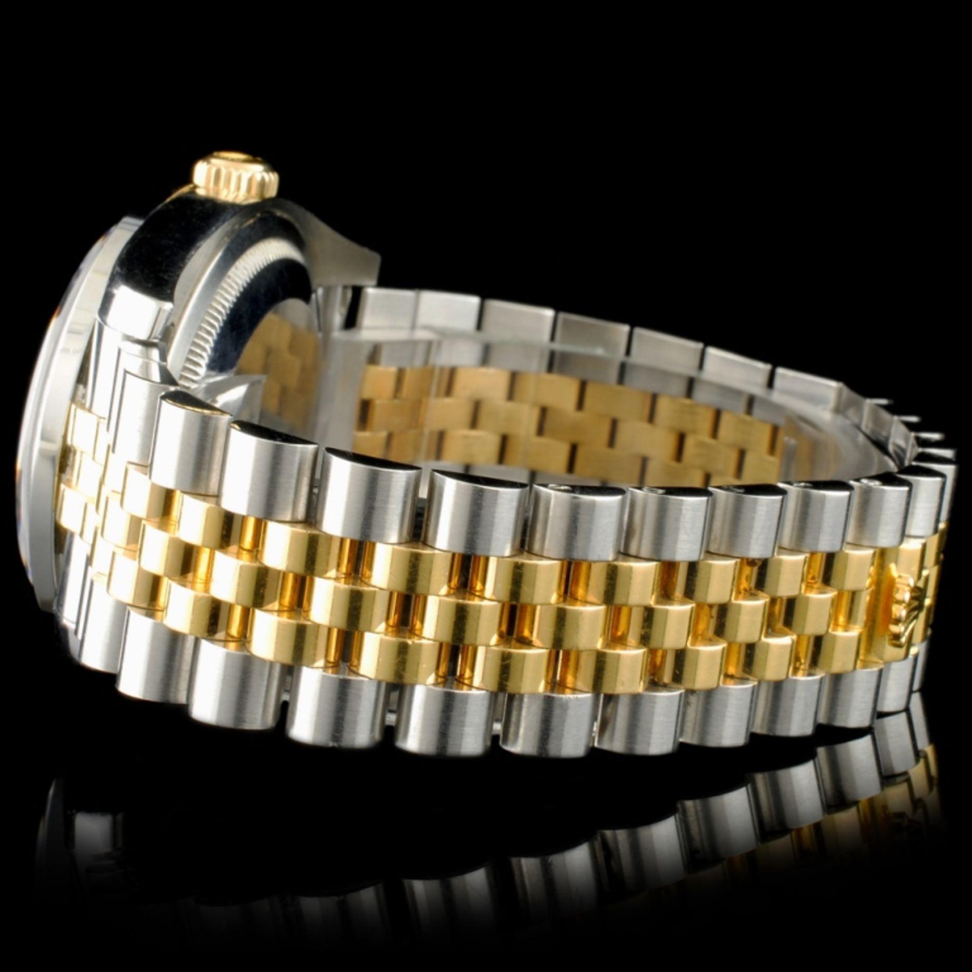 Rolex DateJust 116233 18K YG/SS Diamond 36MM Watch - Image 5 of 7