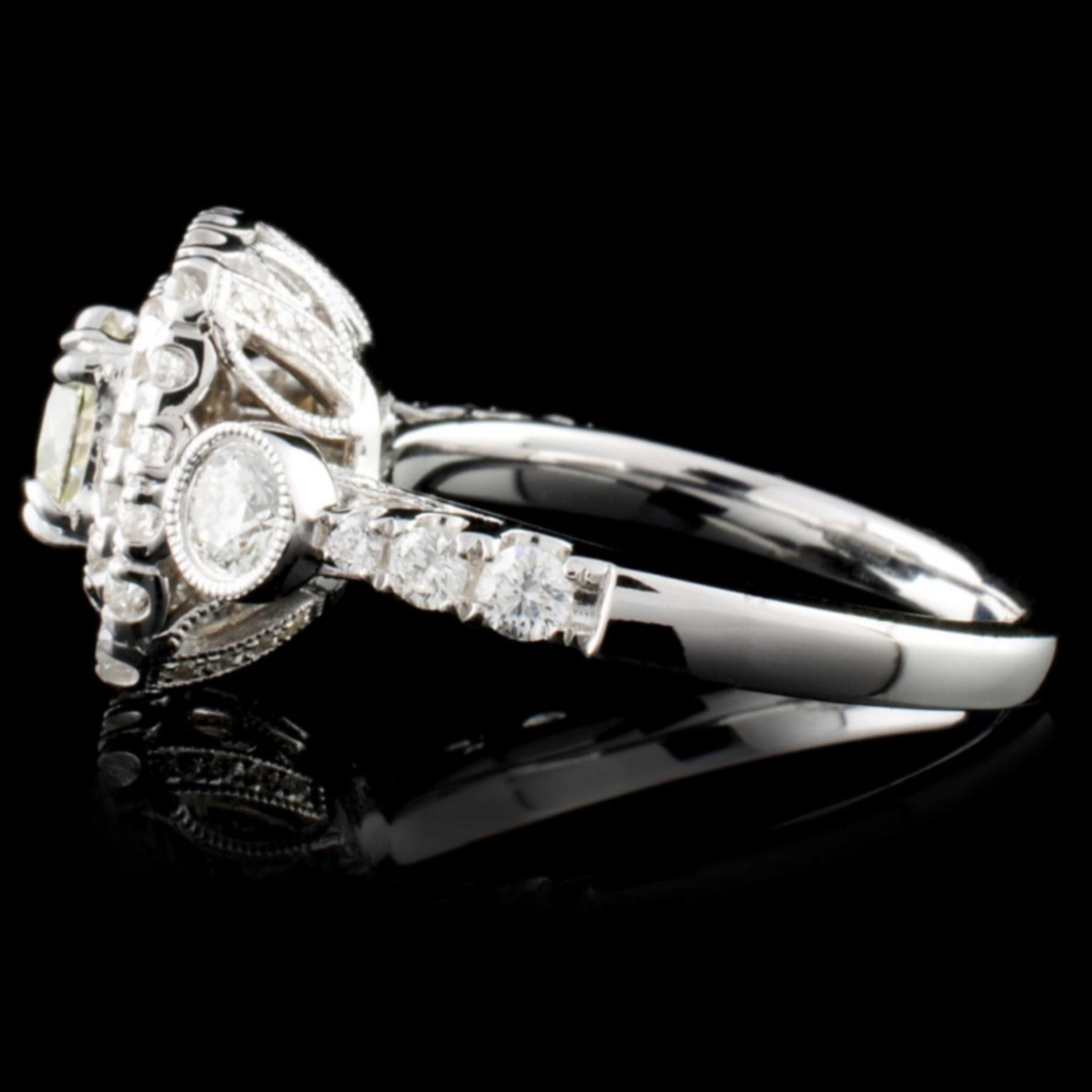 18K White Gold 1.60ctw Diamond Ring - Image 3 of 4