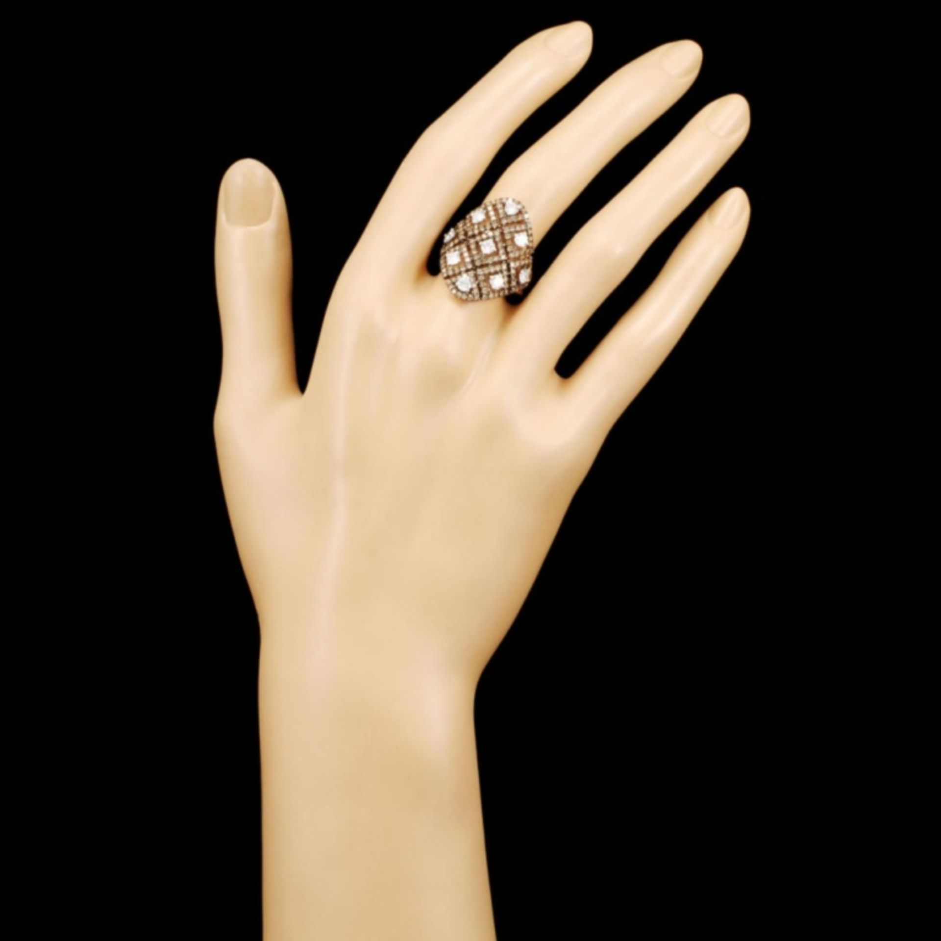 14K Gold 1.93ctw Diamond Ring - Image 4 of 5