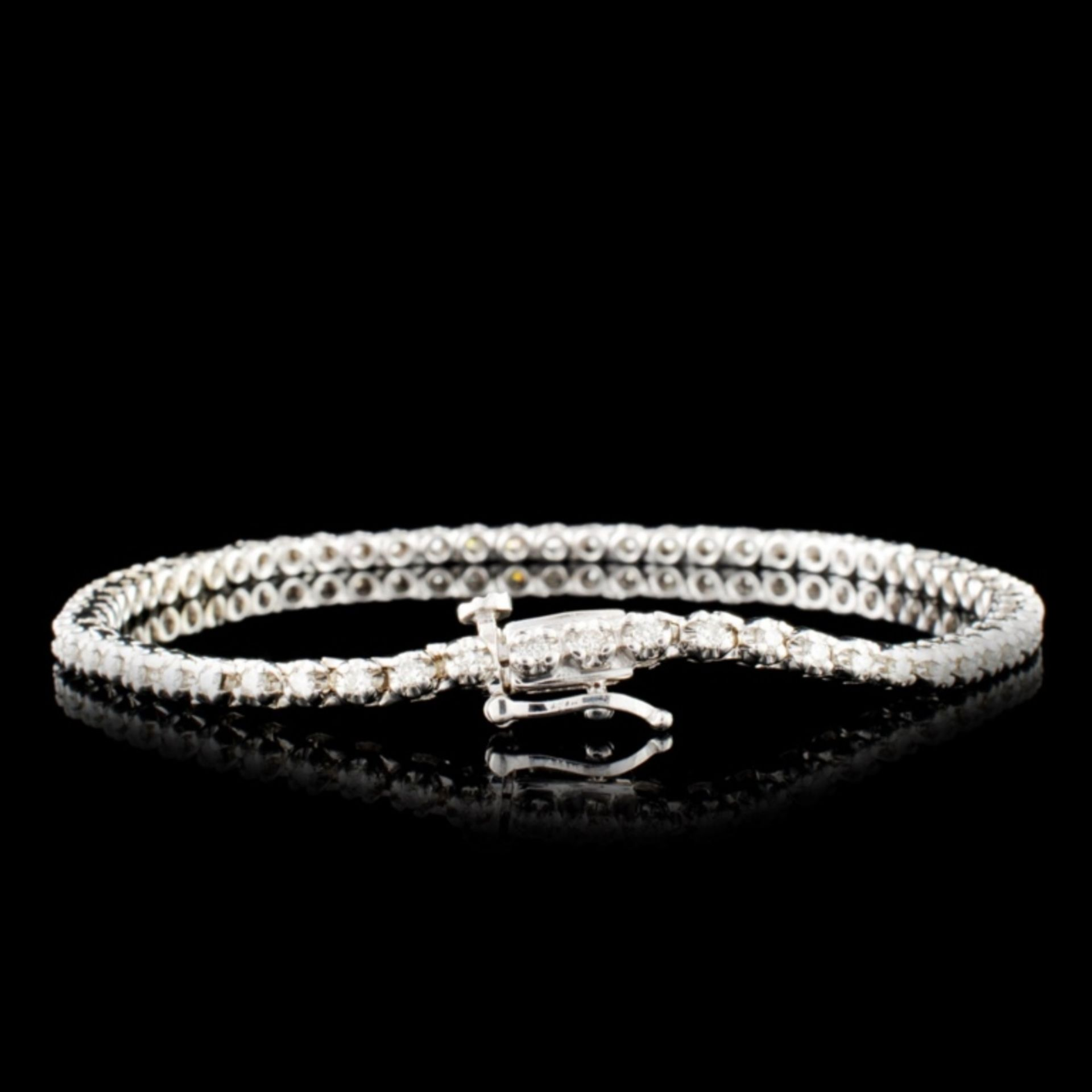14K Gold 0.44ctw Diamond Bracelet - Image 2 of 4