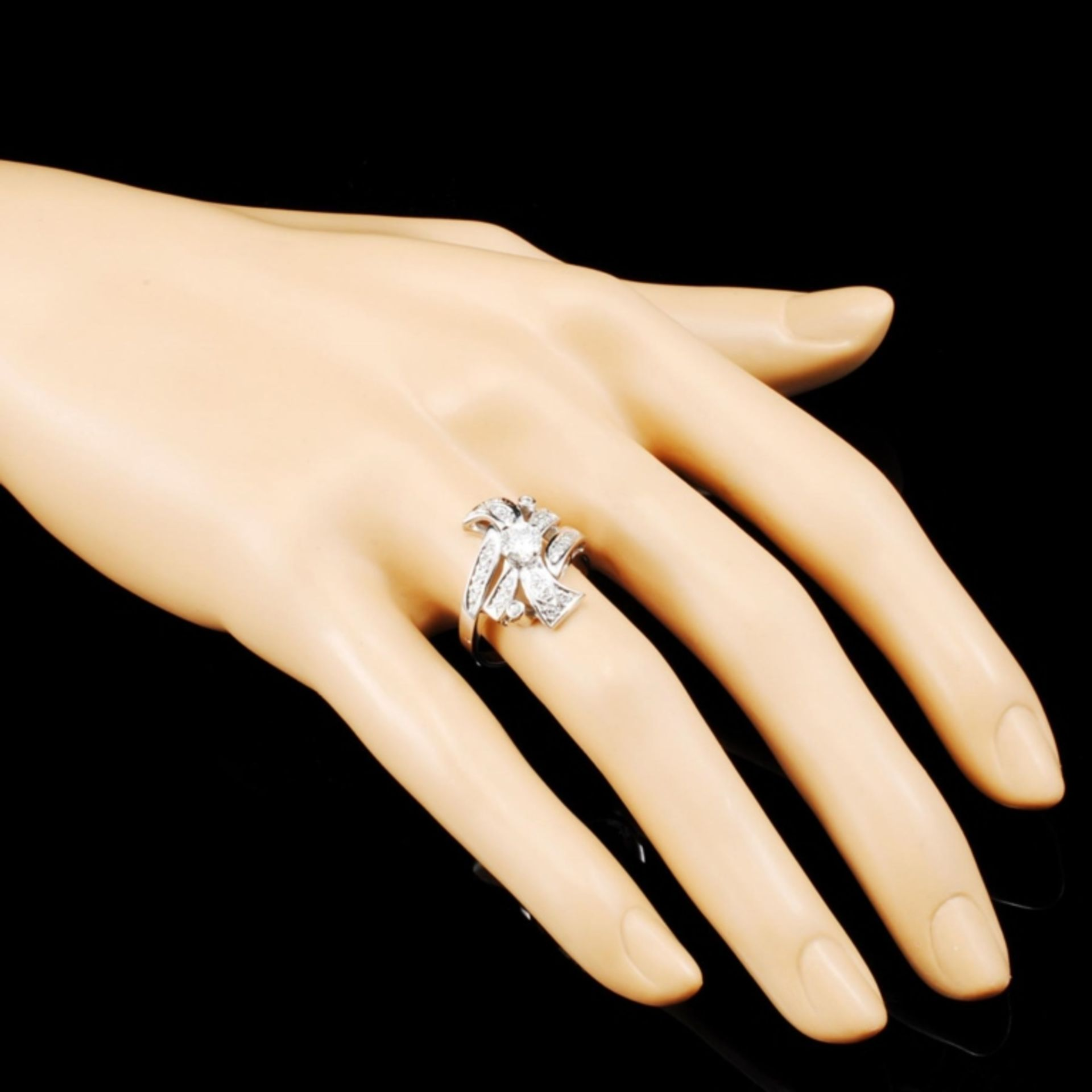14K Gold 0.85ctw Diamond Ring - Image 3 of 5