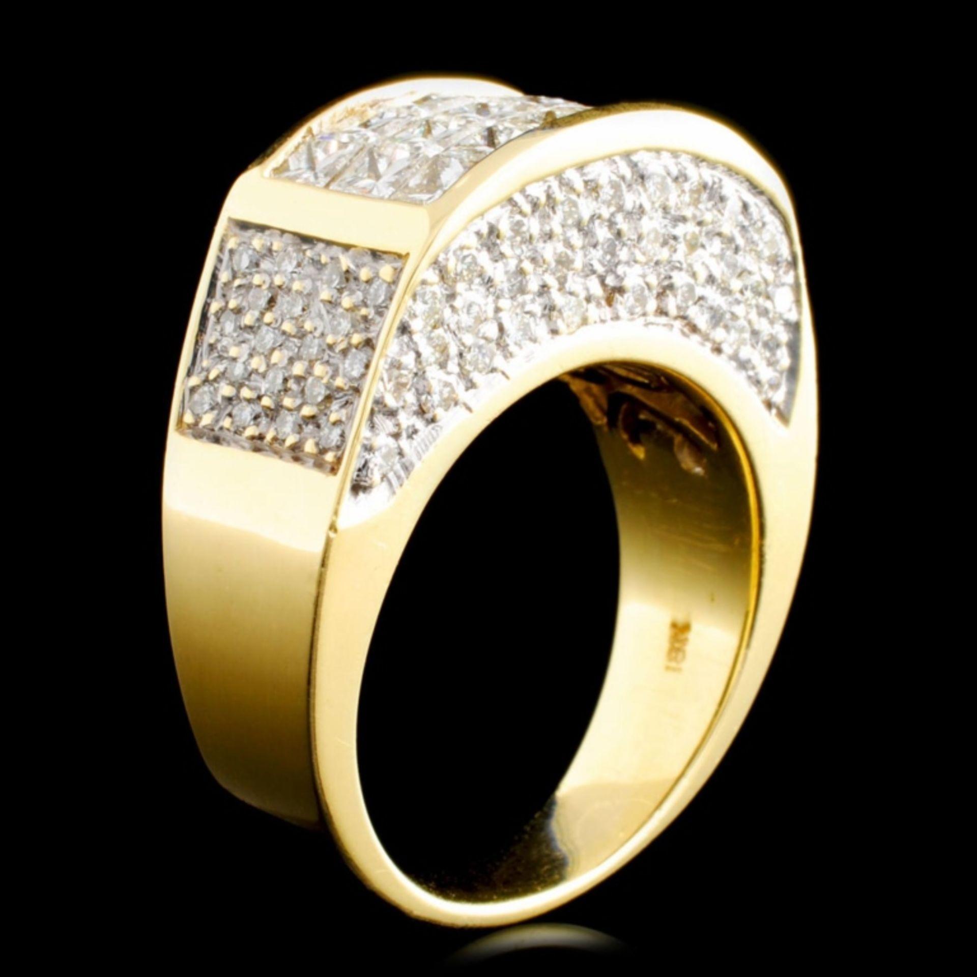 18K Gold 2.79ctw Diamond Ring - Image 2 of 5
