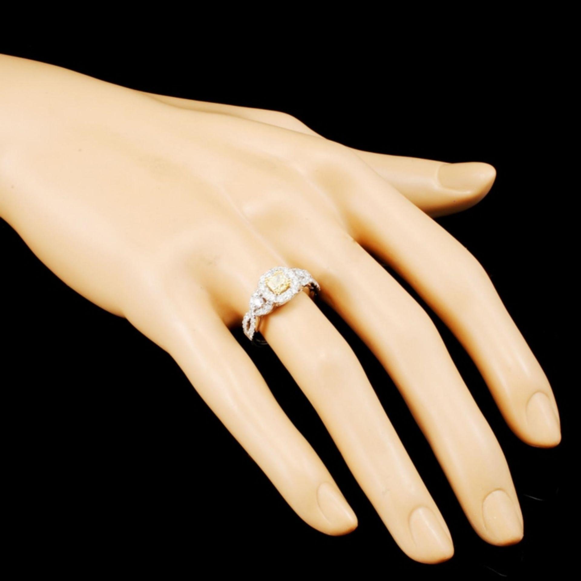 18K Gold 1.31ctw Diamond Ring - Image 3 of 5