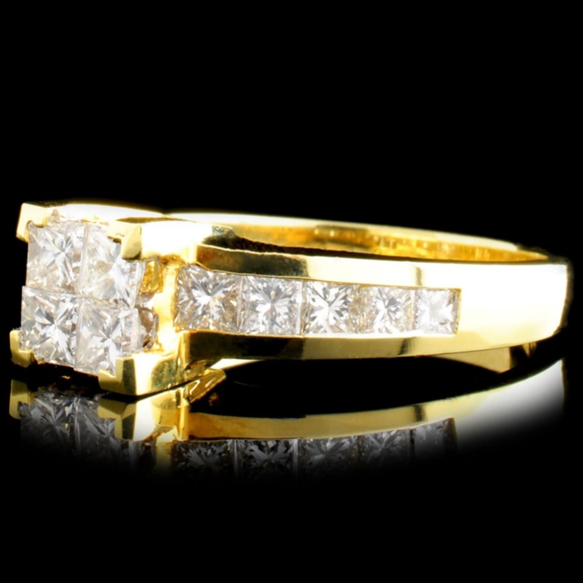 18K Gold 1.50ctw Diamond Ring - Image 2 of 5
