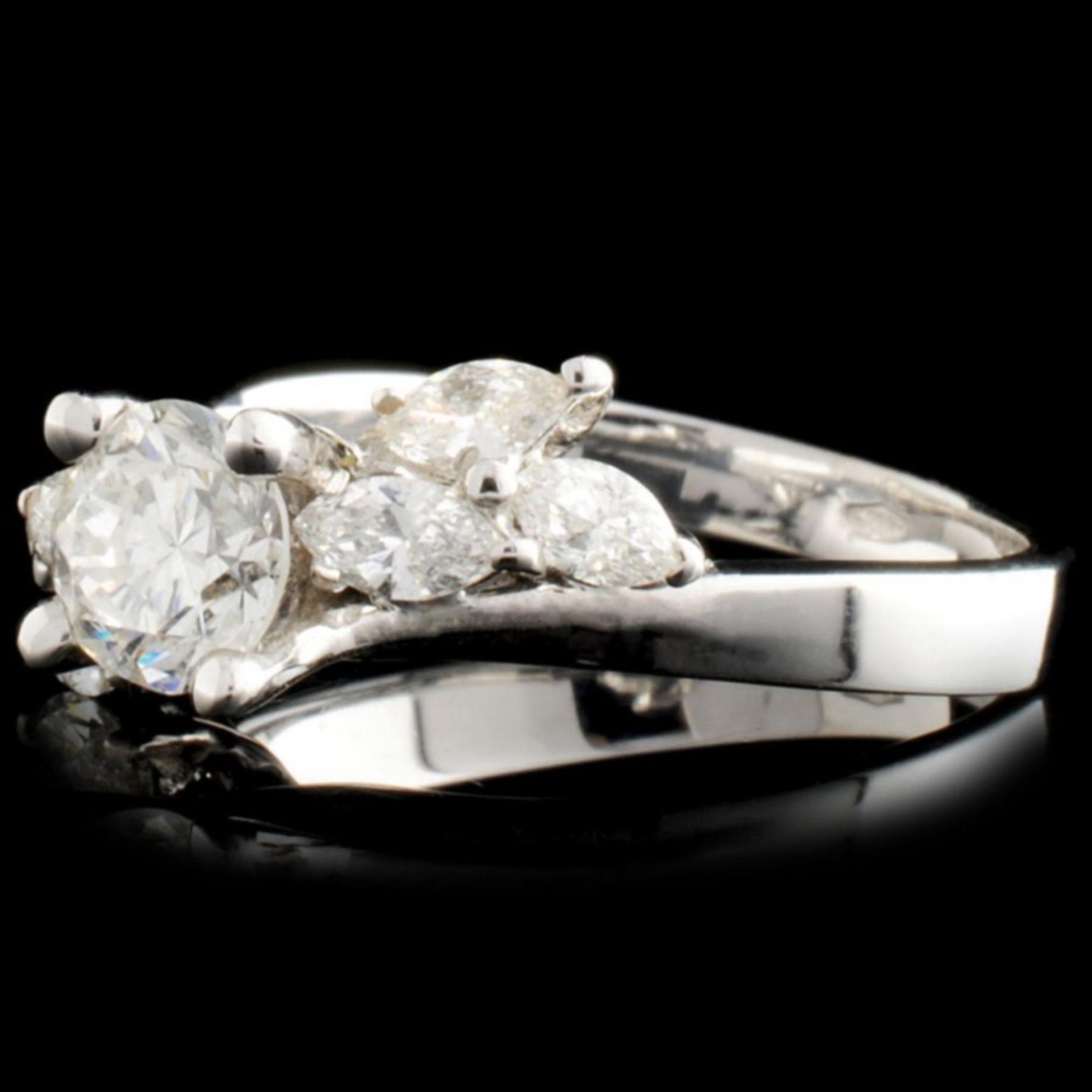 18K Gold 0.77ctw Diamond Ring - Image 2 of 3